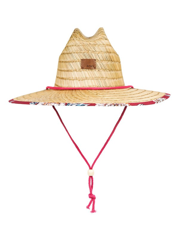 0 Tomboy Straw Sun Hat Red ERJHA03622 Roxy