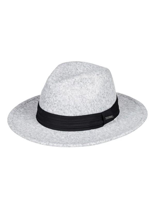0 ROXY Fedora Hat Grey ERJHA03625 Roxy