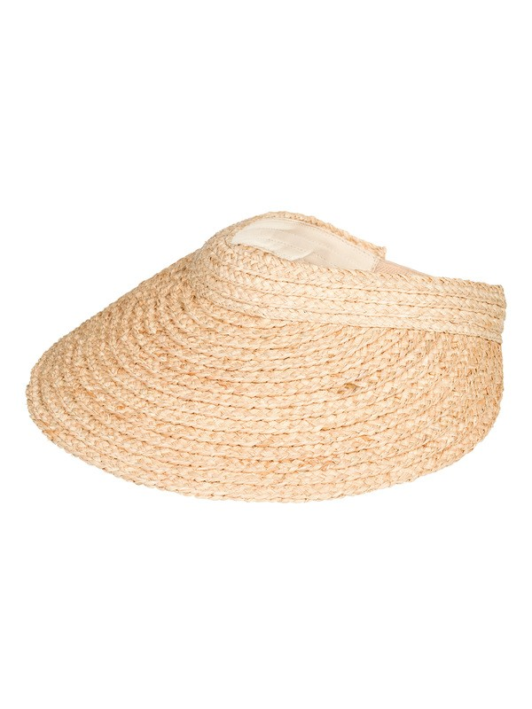 0 Always Blooming Straw Visor Yellow ERJHA03627 Roxy
