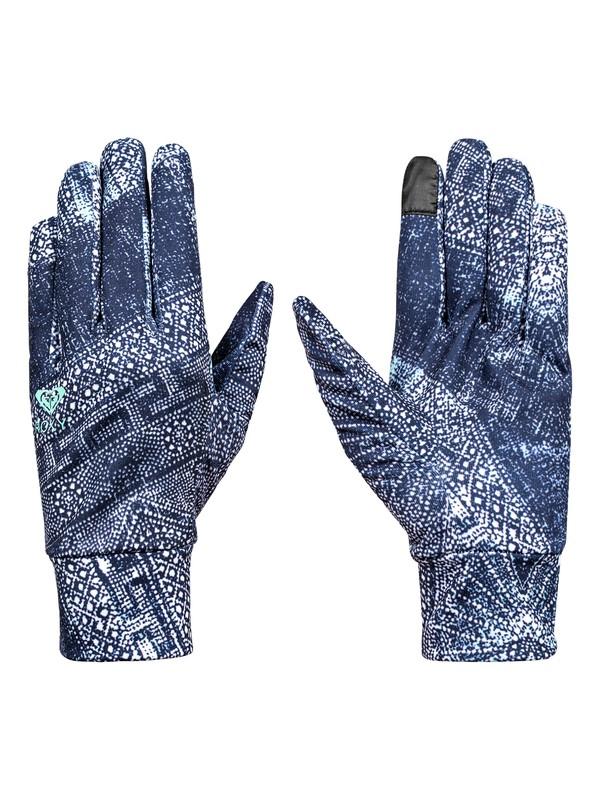 0 Liner - Liner Gloves for Women Blue ERJHN03059 Roxy