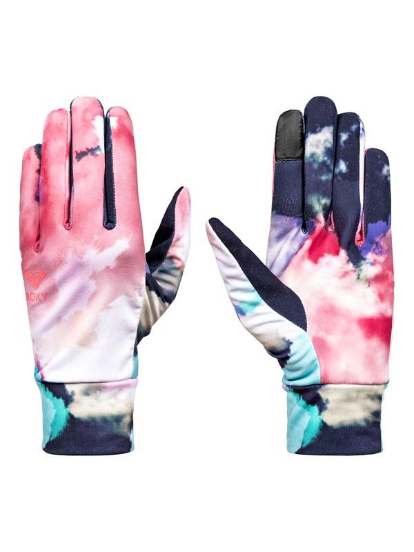0 Liner - Liner Gloves for Women Orange ERJHN03059 Roxy