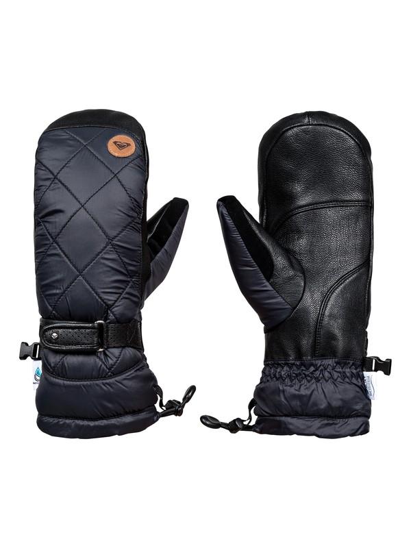 0 Victoria - Moufles de snowboard/ski pour Femme Noir ERJHN03067 Roxy
