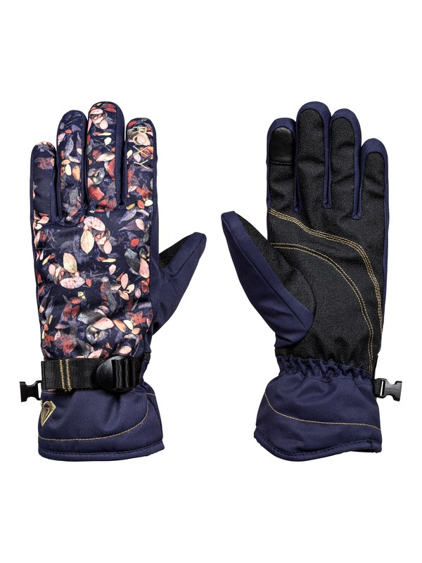 0 ROXY Jetty - Snowboard/Ski Gloves for Women Blue ERJHN03068 Roxy