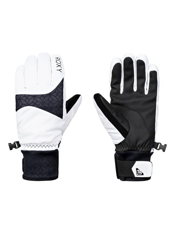 0 Big Bear - Gloves for Women White ERJHN03094 Roxy