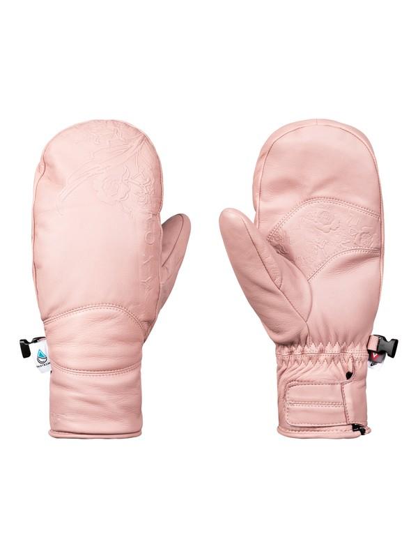 0 Torah Bright Abyss - Ski/Snowboard Mittens for Women Pink ERJHN03100 Roxy