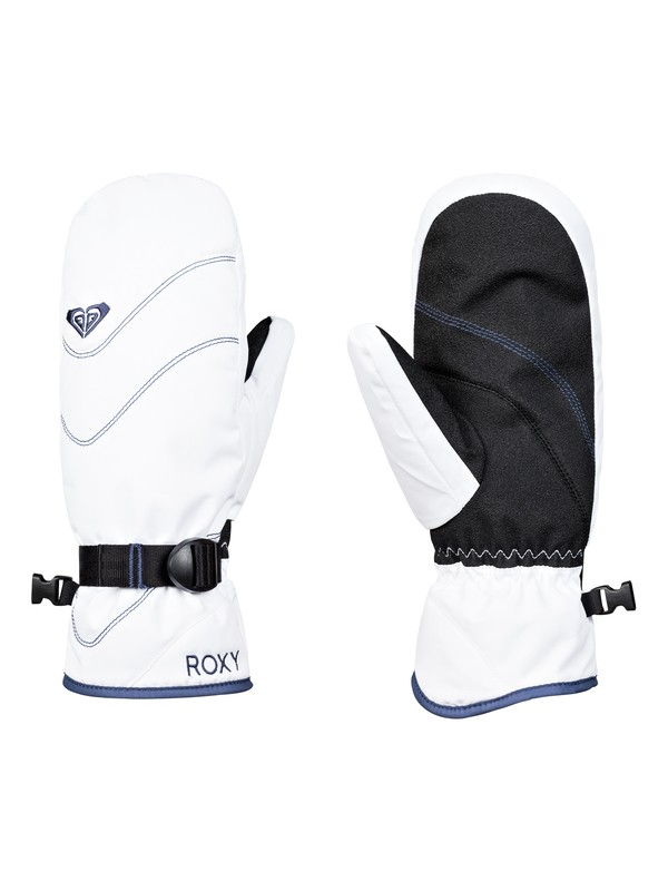 0 ROXY Jetty - Ski/Snowboard Mittens for Women White ERJHN03104 Roxy