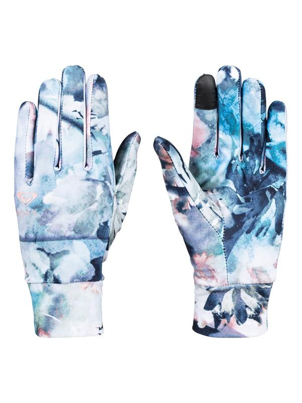 0 Liner Snowboard/Ski Gloves Blue ERJHN03105 Roxy