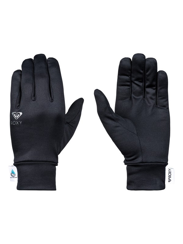 0 E&C Liner Gloves Black ERJHN03106 Roxy