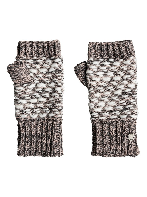 0 Corner Of The Fire Knitted Fingerless Gloves  ERJHN03118 Roxy