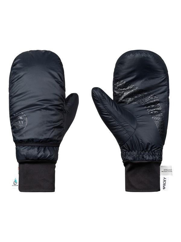 0 ROXY Packable - Technical Mittens for Women Black ERJHN03121 Roxy
