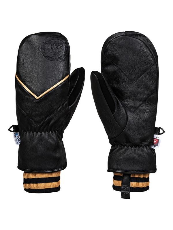 0 Torah Bright Summit HydroSmart Snowboard/Ski Mittens Black ERJHN03132 Roxy