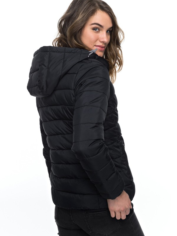 0 Forever Freely - Insulator Hooded Jacket for Women Black ERJJK03158 Roxy