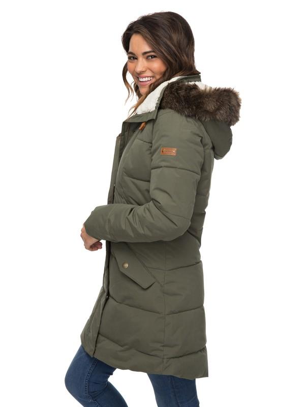 0 Куртка Ellie 5K Зеленый ERJJK03186 Roxy