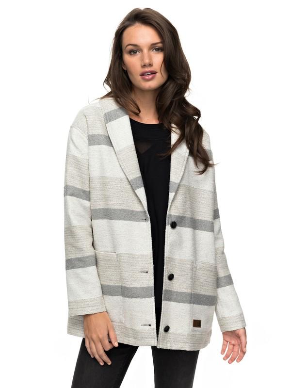 0 Lunar Light - Light Jersey Jacket for Women Grey ERJJK03205 Roxy