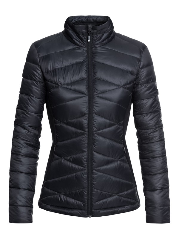 0 Neve Technical Insulator Jacket Black ERJJK03243 Roxy