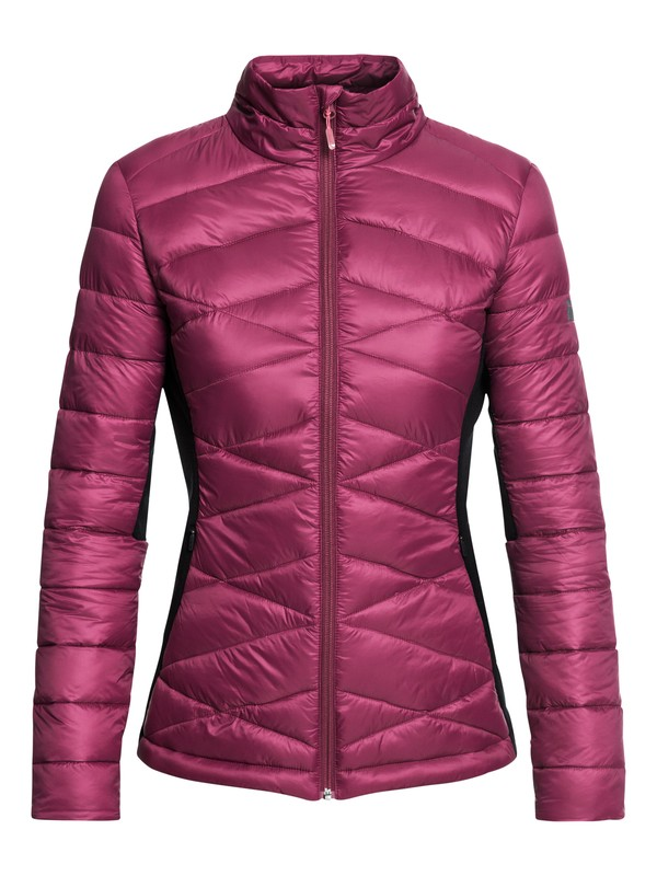 0 Neve - Technical Insulator Jacket for Women Red ERJJK03243 Roxy