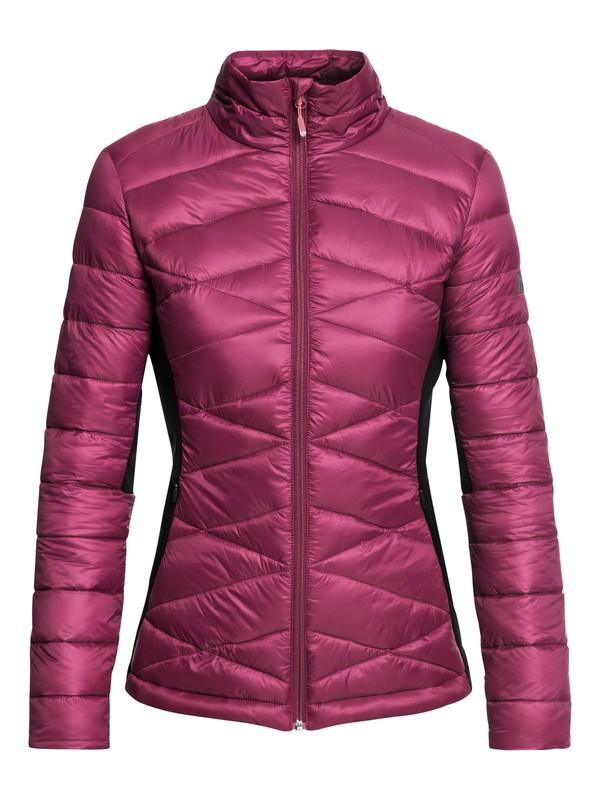0 Neve - Veste chaude technique pour Femme Rouge ERJJK03243 Roxy