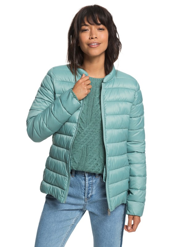 0 Endless Dreaming - Packable Lightweight Puffer Jacket for Women Blue ERJJK03252 Roxy