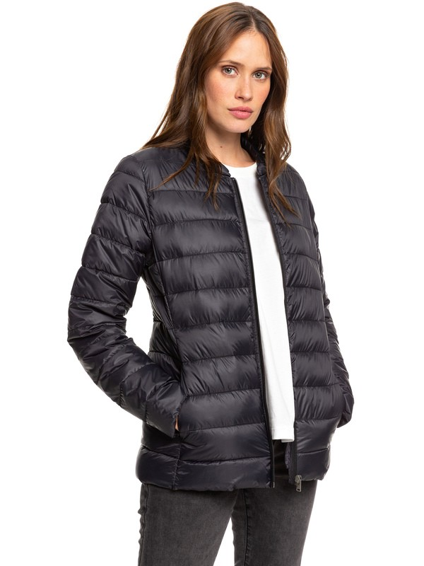 0 Endless Dreaming - Packable Lightweight Puffer Jacket Black ERJJK03252 Roxy