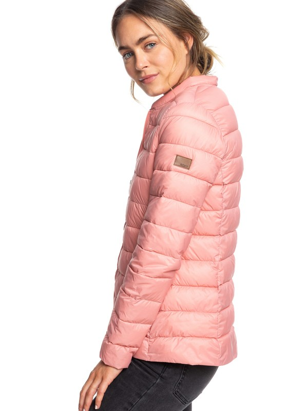 0 Endless Dreaming - Packable Lightweight Puffer Jacket Pink ERJJK03252 Roxy