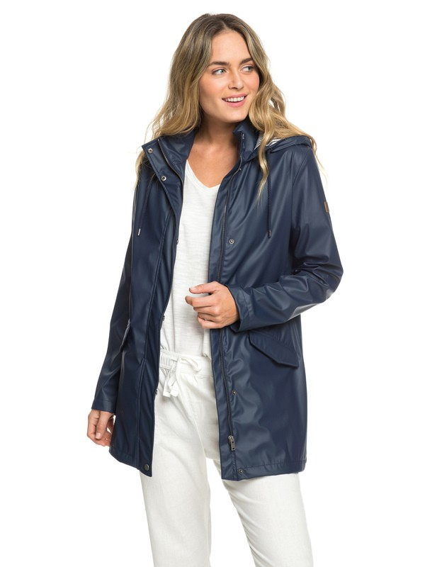 0 Early Morning - Veste déperlante pour Femme Bleu ERJJK03277 Roxy