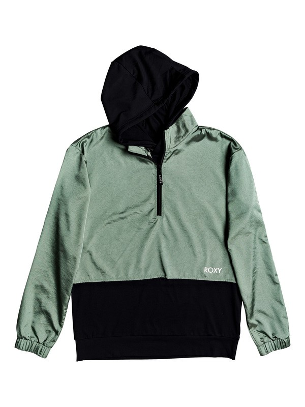 0 On Hold 2 - 2-in-1 Hooded Jacket Green ERJJK03330 Roxy