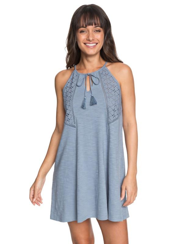 0 Enchanted Island - Strappy Dress for Women Blue ERJKD03164 Roxy