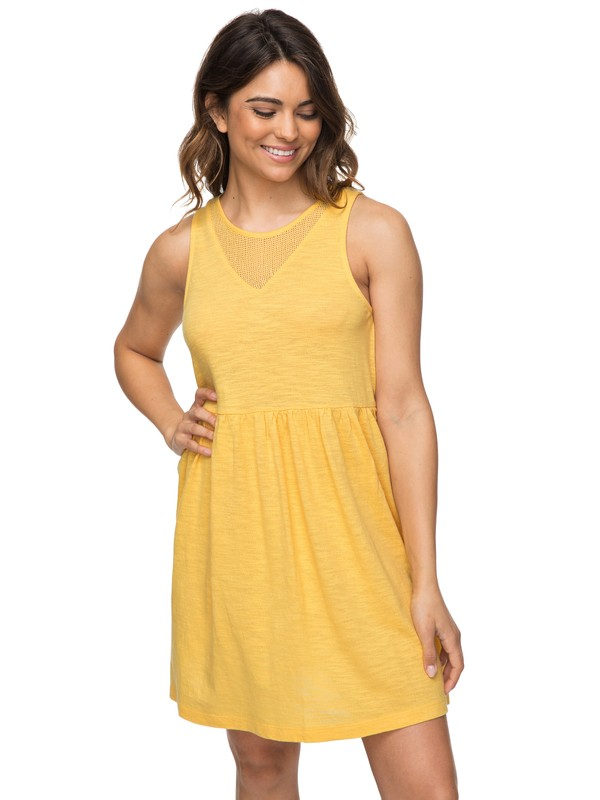 0 Tucson Tank Dress Yellow ERJKD03183 Roxy