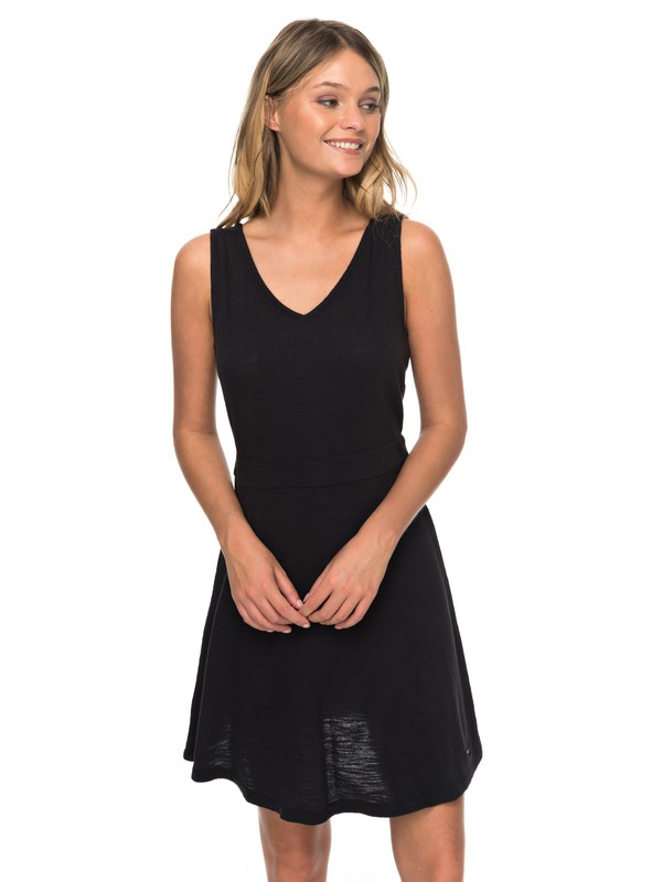 0 Buying Time - Robe sans manches pour Femme Noir ERJKD03246 Roxy
