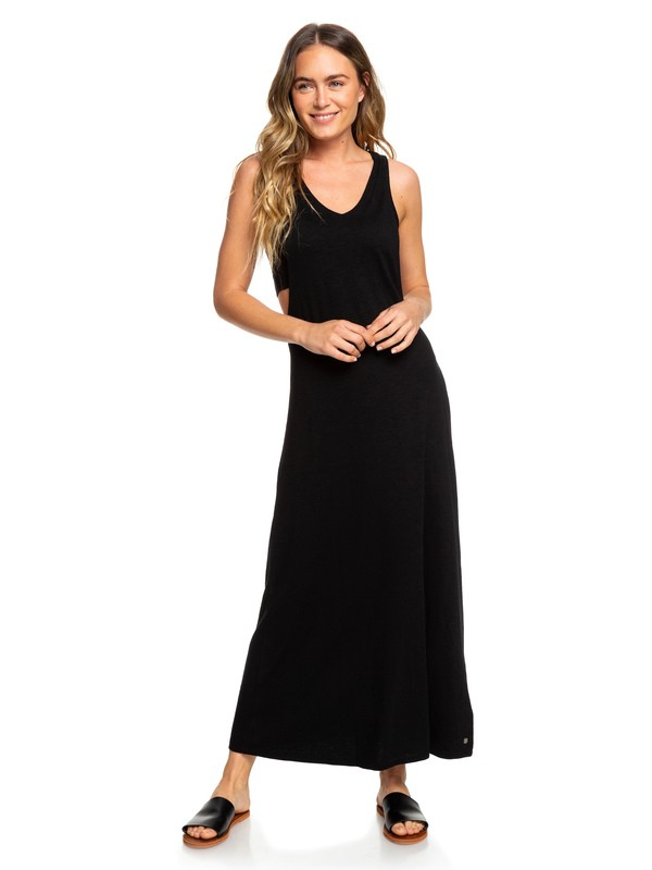 0 Maxi Vestido de Camiseta sin mangas That Way  ERJKD03250 Roxy