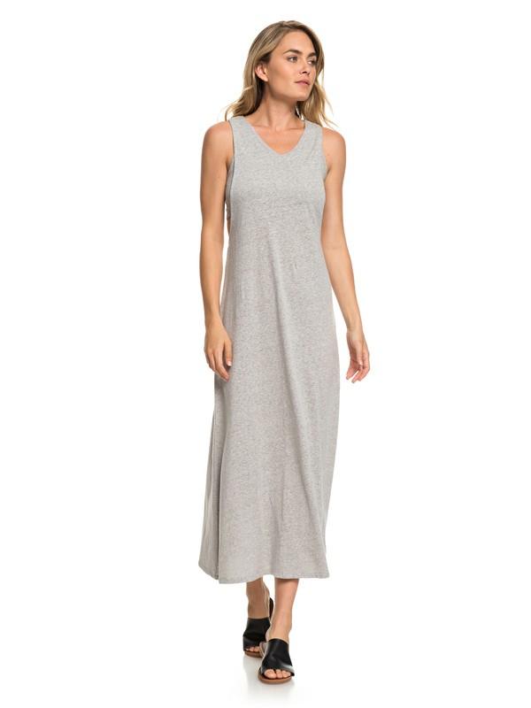 0 That Way - Robe longue sans manches pour Femme Gris ERJKD03250 Roxy