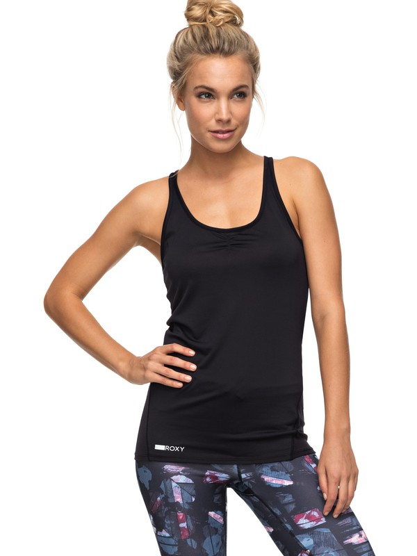 0 Wild Soul - Top Camiseta para Mujer Negro ERJKT03292 Roxy