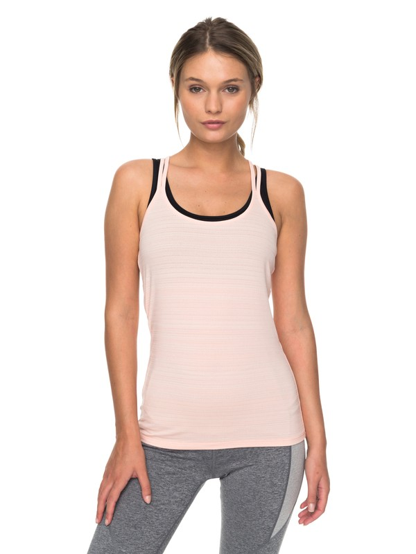 0 Dancing With Stars - Technical Strappy Top for Women Pink ERJKT03388 Roxy