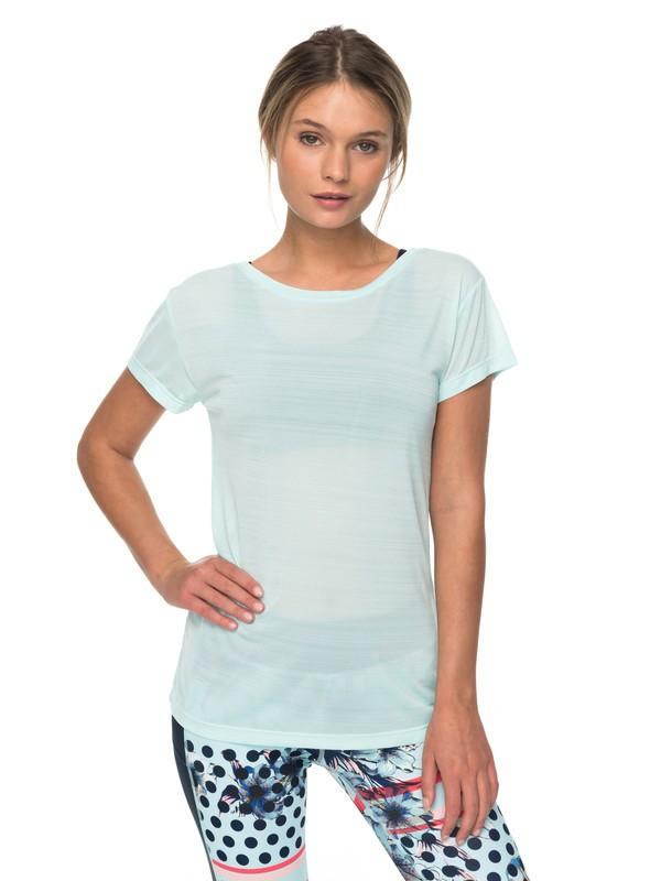 0 Dakota Dreaming - Technical T-Shirt for Women Blue ERJKT03390 Roxy