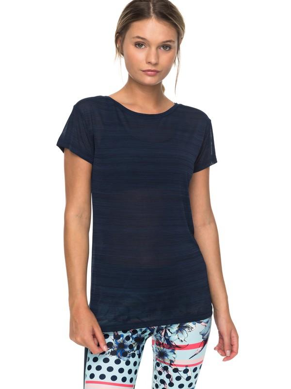 0 Dakota Dreaming - Funktionelles T-Shirt für Frauen Blau ERJKT03390 Roxy