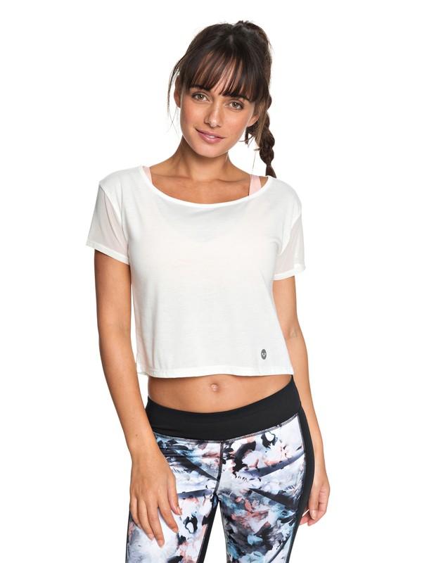 0 Meaning Of Soul - Camiseta de diseño técnico para Mujer Blanco ERJKT03440 Roxy