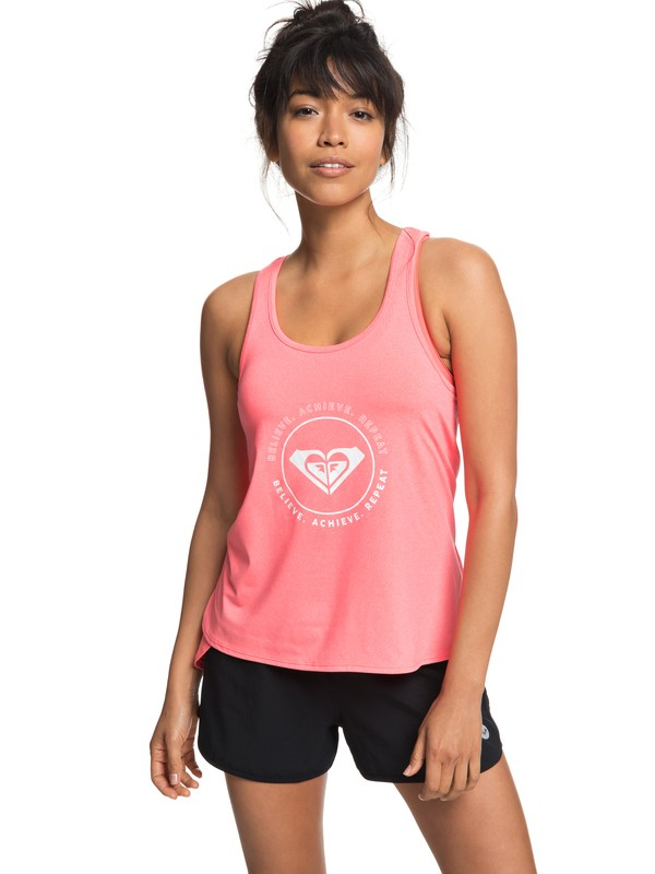 0 Take A Breath - Technical Vest Top for Women Red ERJKT03443 Roxy