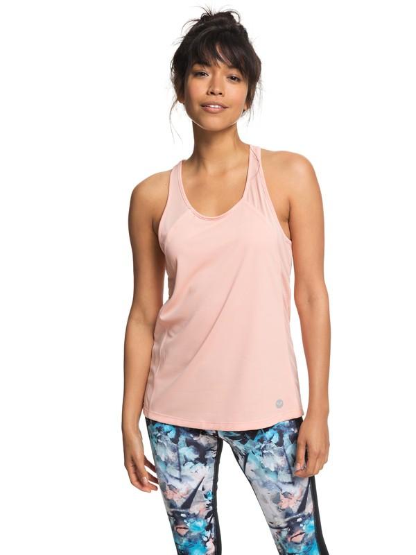 0 Live Forever - Technical Vest Top for Women Pink ERJKT03444 Roxy