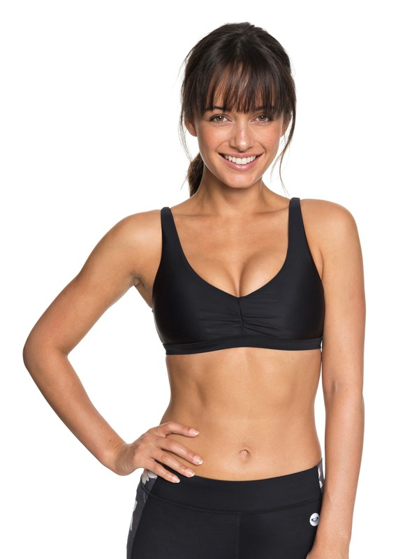 0 Envy Bra Sports Bra Black ERJKT03452 Roxy
