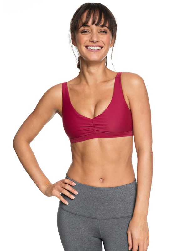 0 Envy Bra Sports Bra Red ERJKT03452 Roxy