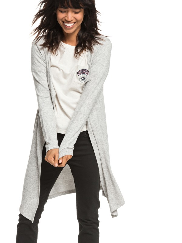 0 All To You - Cardigan pour Femme Gris ERJKT03475 Roxy