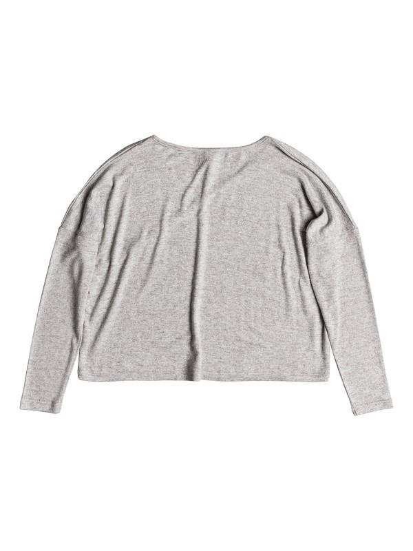 0 Your Time Long Sleeve Top Grey ERJKT03487 Roxy