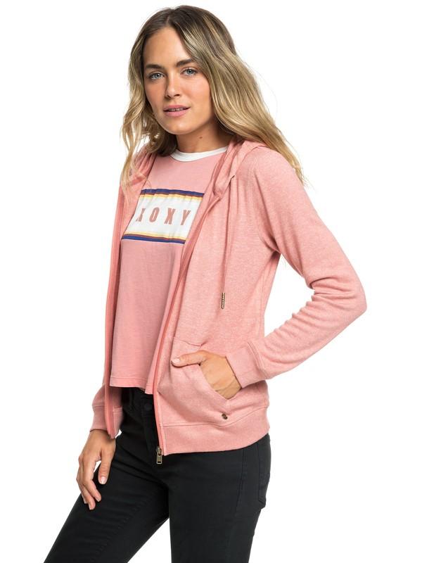0 Cozy Zip-Up Hoodie Pink ERJKT03491 Roxy