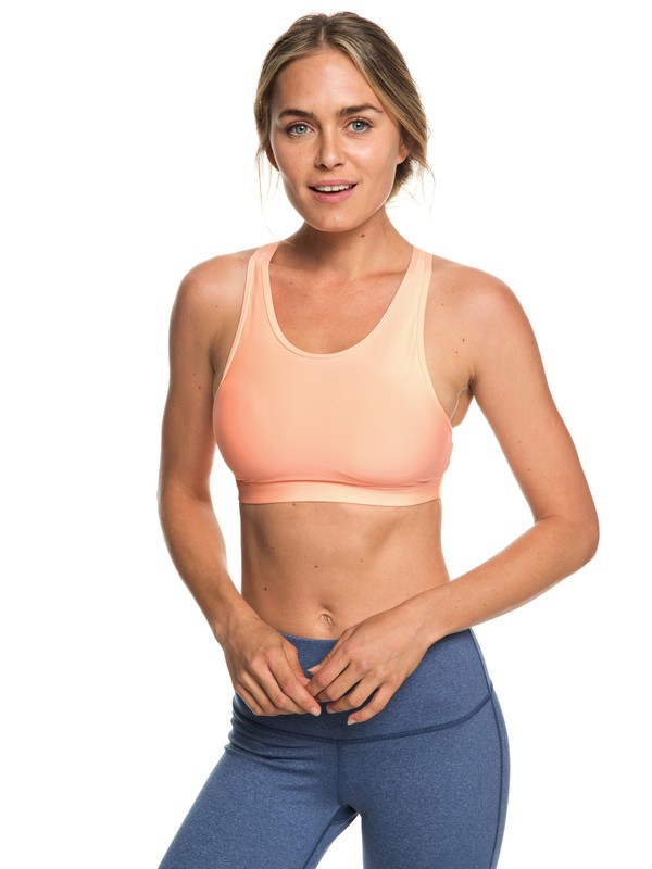 0 Lets Dance Sports Bra Pink ERJKT03502 Roxy