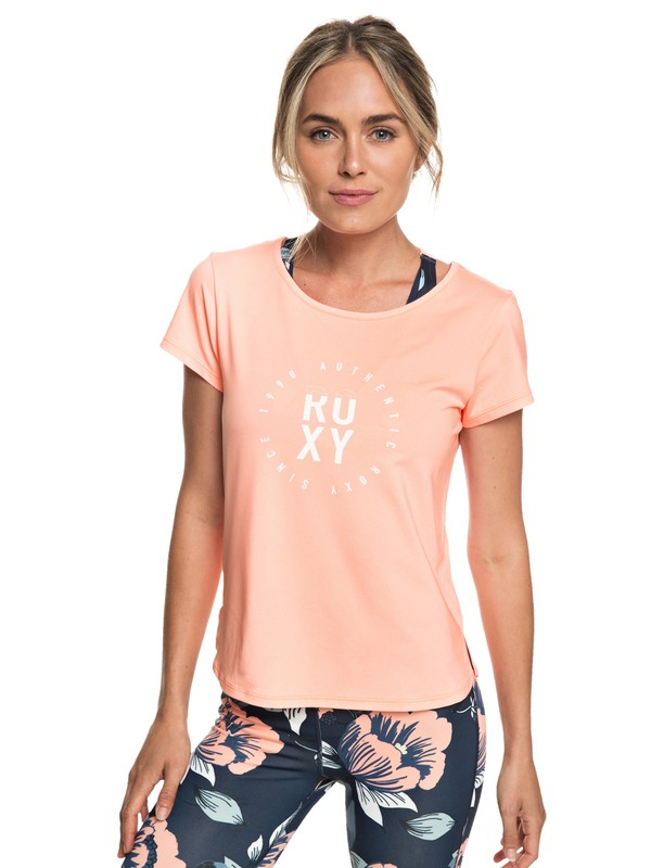 0 Last Dance - T-shirt de sport pour Femme Rose ERJKT03507 Roxy