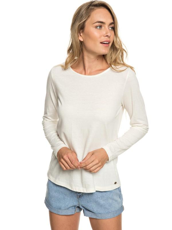 0 Delicat Sense - Haut manches longues pour Femme Blanc ERJKT03521 Roxy
