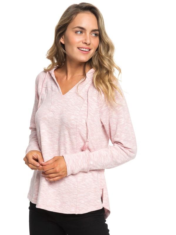 0 Wild Dreaming - Sweat à capuche pour Femme Rose ERJKT03536 Roxy