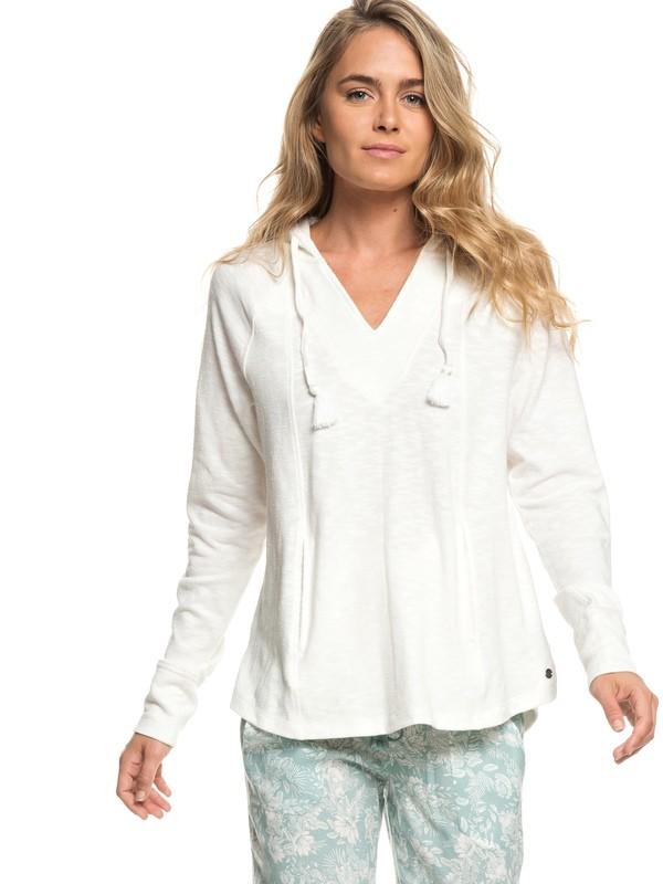 0 Wild Dreaming - Sweat à capuche pour Femme Blanc ERJKT03536 Roxy