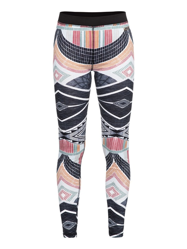 0 Daybreak Bottom Technical Base Layer Leggings Black ERJLW03001 Roxy