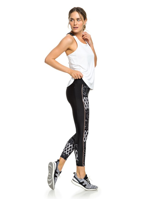 0 Spy Game - Workout-Leggings für Frauen Weiss ERJNP03213 Roxy